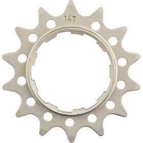 Reverse Single Speed Sprocket extra strong, light silver